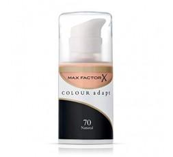 3 x Max Factor Colour Adapt Foundation 34ml - 70 Natural